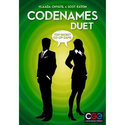Czech Games Edition Codenames Duet (Engelska)
