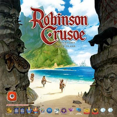 Portal Games Robinson Crusoe: Adventures on the Cursed Island (Engelska)
