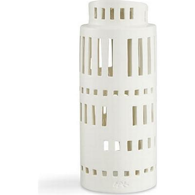 Kähler Urbania Light Housing Tower 22cm Värmeljuslykta