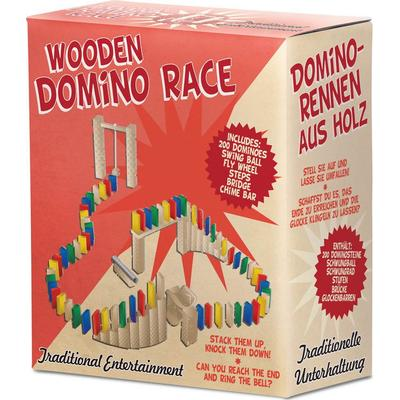 TOBAR Wooden Domino Race
