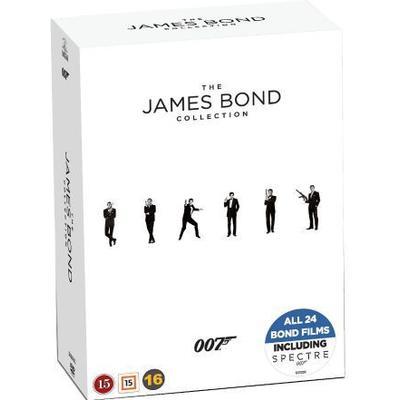 SF Studios James Bond - Collection Box Incl. Spectre (24 disc)