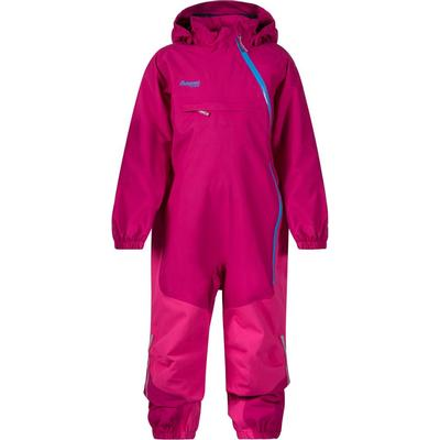 Bergans Snøtind Insulated Kids Coverall - Cerise/Hot Pink/Light Winter Sky