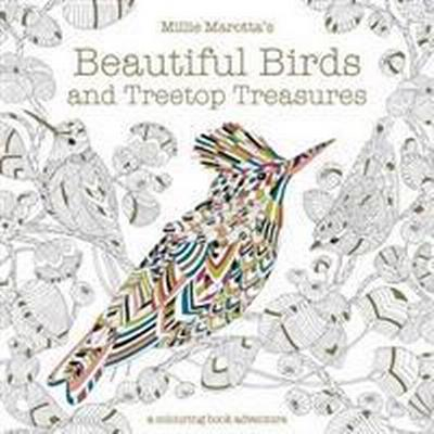 Millie Marotta's Beautiful Birds and Treetop Treasures (Häftad, 2017)