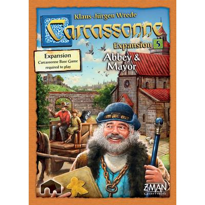 Z-Man Games Carcassonne: Expansion 5 Abbey & Mayor