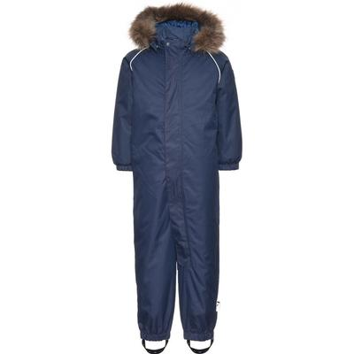 Name It Mini Powder Plain Snow Suit - Blue/Dress Blues (13137966)