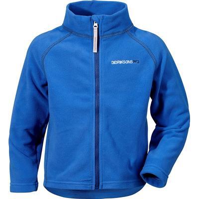Didriksons Monte Kids Microfleece Jacket 2 - Indigo Blue (172501359187)