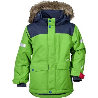 Didriksons Storlien Kids Jacket - Kryptonite Green (172501471364)