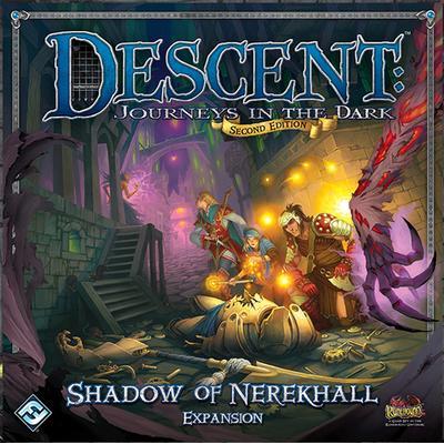 Fantasy Flight Games Descent: Journeys in the Dark Second Edition: Shadow of Nerekhall Descent (Engelska)