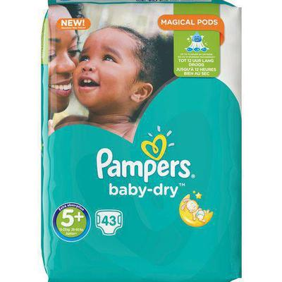 Pampers Baby Dry Size 5+
