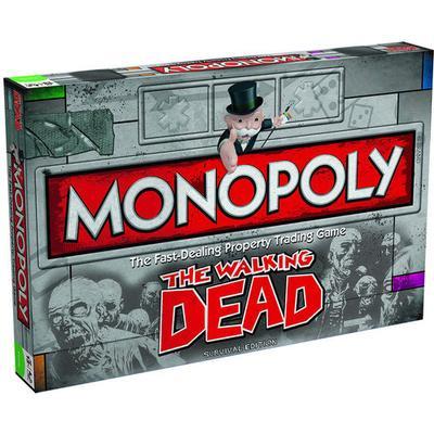 Monopoly: The Walking Dead (Engelska)