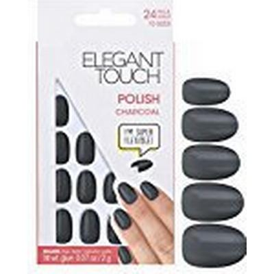 Elegant Touch Charcoal Polish Nails 24-pack