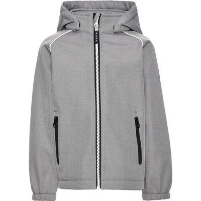 Name It Mini Alfa Grey Softshell Jacket - Grey/Frost Gray (13138261)