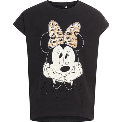 Name It Minnie Mouse Short Sleeved Top - Black/Black (13145417)