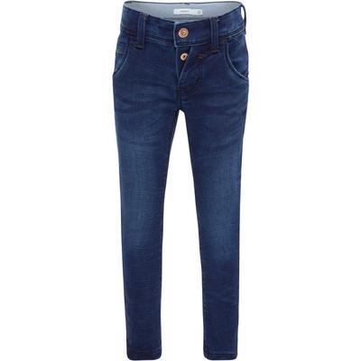 Name It Slim Fit Jeans - Blue/Dark Blue Denim (13142152)