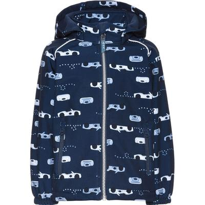 Name It Mini Alfa Car Printed Softshell Jacket - Blue/Vintage Indigo (13139346)