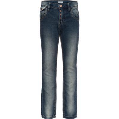 Name It Nithor Slim Fit Sweat Jeans - Blue/Medium Blue Denim (13130492)
