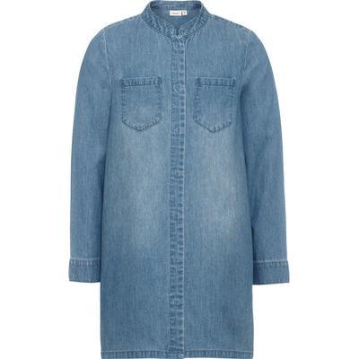 Name It Nitasta Denim Shirt Dress - Blue/Dark Blue Denim (13143083)