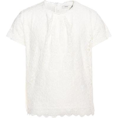 Name It Nithimpy Short Sleeved Top - White/Snow White (13138308)
