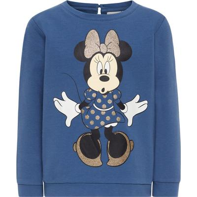 Name It Mini Minnie Mouse Sweatshirt - Blue/Ensign Blue (13145382)