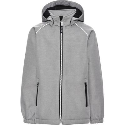 Name It Alfa Grey Softshell Jacket - Grey/Grey Melange (13138264)