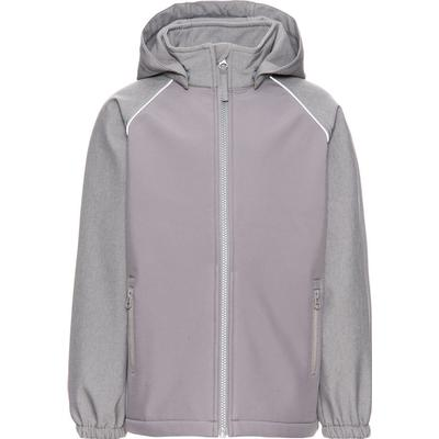 Name It Alfa Softshell Jacket - Grey/Frost Gray (13138402)