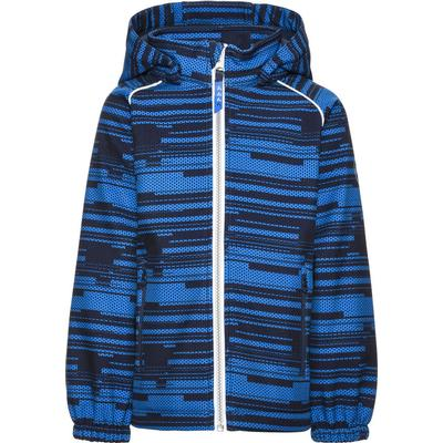 Name It Mini Alfa All-Over Printed Softshell Jacket - Blue/Dress Blues (13138286)