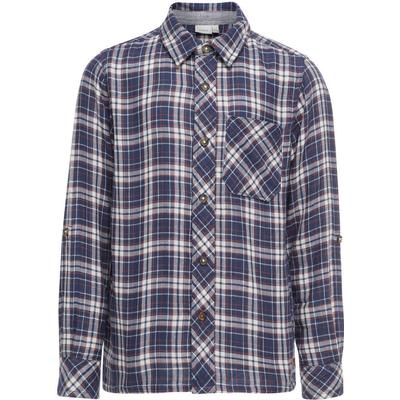 Name It Checked Long Sleeved Shirt - Blue/Dress Blues (13149069)