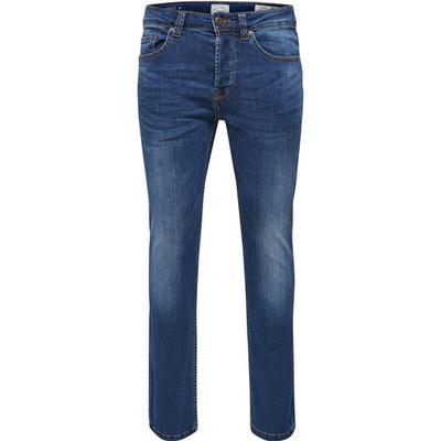 Only & Sons Weft Regular Fit Jeans Blue/Medium Blue Denim (22005076)