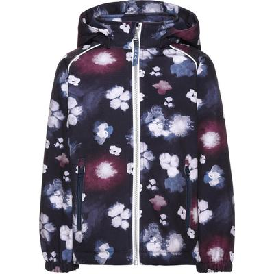 Name It Mini Alfa Flower Printed Softshell Jacket - Blue/Sky Captain (13139348)