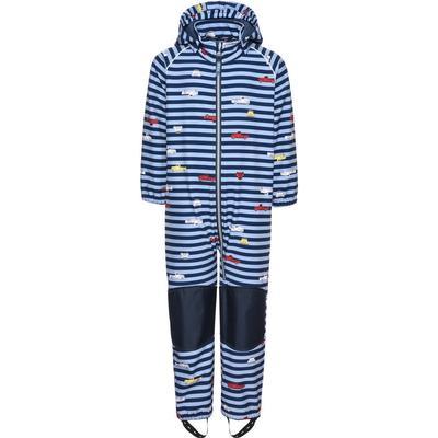 Name It Mini Alfa Striped Softshell Suit - Blue/Dress Blues (13139350)