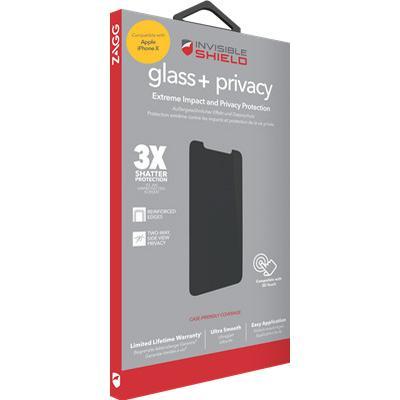 Zagg InvisibleSHIELD Glass+ Privacy (iPhone X)