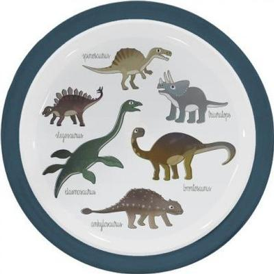 Sebra Melamine Plate Dino