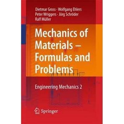 Mechanics of Materials - Formulas and Problems (Häftad, 2016)