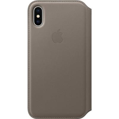 Apple Læder Folio Cover (iPhone X)