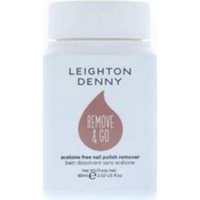 Leighton Denny Remove & Go Acetone Free Nail Polish Remover 60ml
