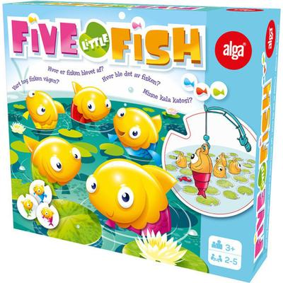 Alga Five Little Fish