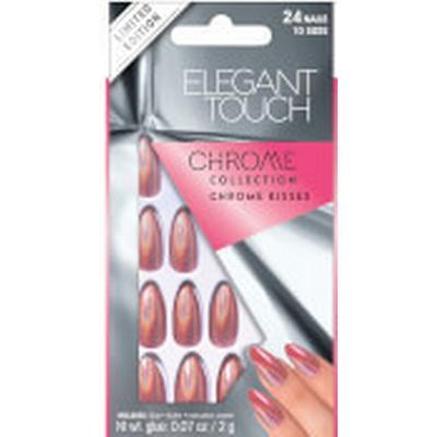 Elegant Touch Chrome Kisses Nails 24-pack