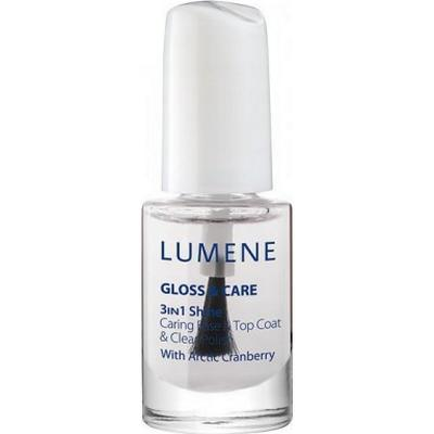Lumene Gloss & Care 3-in-1 Shine Caring Base & Top Coat 5ml