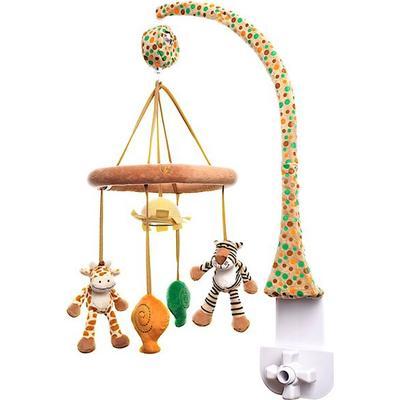 Teddykompaniet Diinglisar Mobil Giraff & Tiger