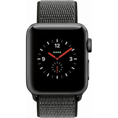 Apple Watch Series 3 Cellular 38mm Aluminum Case with Sport Loop