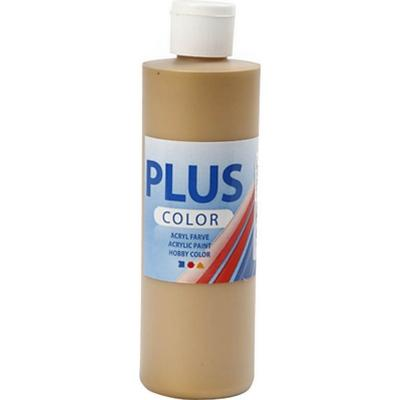 Plus Acrylic Paint Gold 250ml