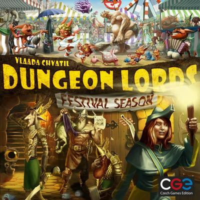 Czech Games Edition Dungeon Lords: Festival Season