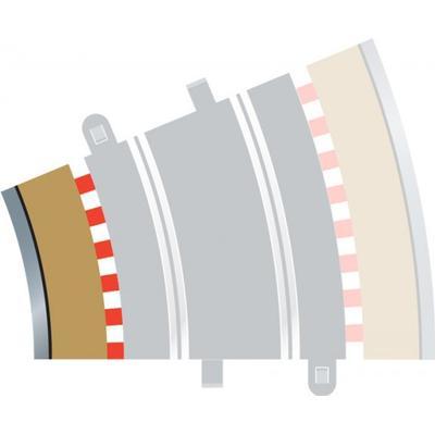 Scalextric Radius 3 Curve Inner Borders 22.5° x 4 C8281