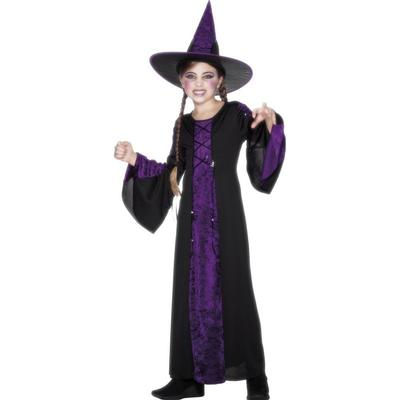 Smiffys Bewitched Costume Black & Purple