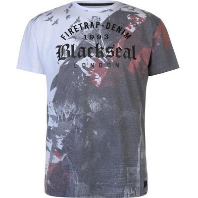 Firetrap Blackseal Birds T-shirt White (59078001)