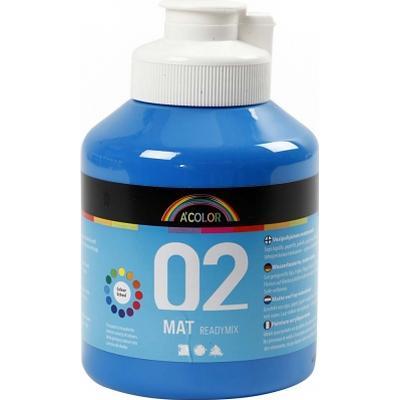 A Color Matt Readymix Primary Blue 500ml