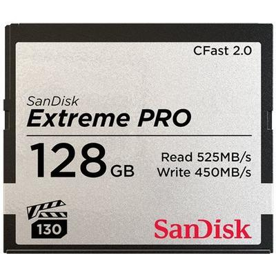 SanDisk Extreme Pro CFast 2.0 525MB/s 128GB