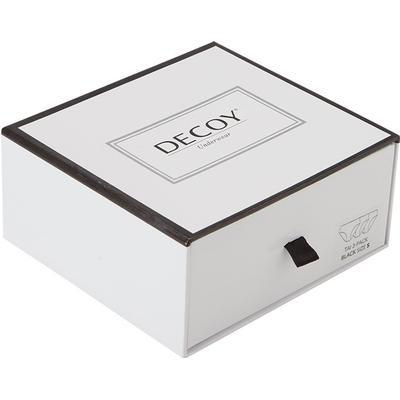 Decoy Lasercut String-trusser i 3-pak, sort