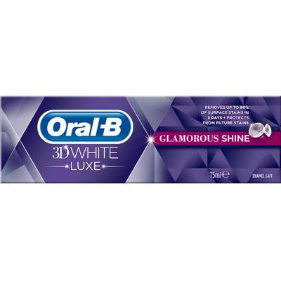 Oral-B 3D White Luxe Glamorous Shine 75ml