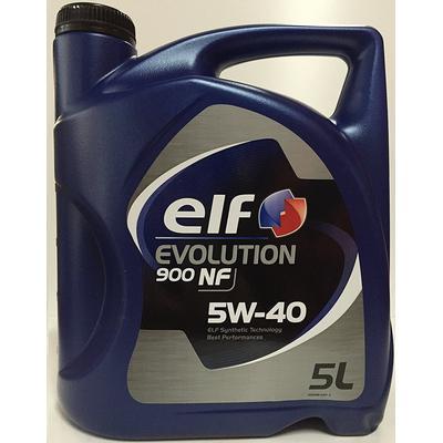 Elf Evolution 900 NF 5W-40 Motorolie